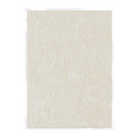 Tonic Studios Craft Perfect Hand Crafted Embossed Cotton Paper A4 - Ivory Bouquet - 5 Pk