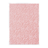 Tonic Studios Craft Perfect Hand Crafted Embossed Cotton Paper A4 - Pink Champagne - 5 Pk