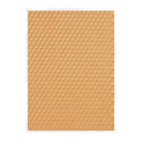 Tonic Studios Craft Perfect Hand Crafted Embossed Cotton Paper A4 - Golden Scales - 5 Pk