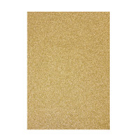 Tonic Studios Craft Perfect Glitter Card A4 - Gold Dust - 5 Pk
