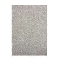 Tonic Studios Craft Perfect Glitter Card A4 - Silver Screen - 5 Pk