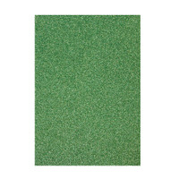 Tonic Studios Craft Perfect Glitter Card A4 - Lucky Shamrock - 5 Pk
