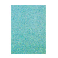 Tonic Studios Craft Perfect Glitter Card A4 - Tropical Tide - 5 Pk
