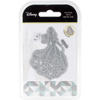Character World Disney Beauty And The Beast Die And Face Stamp Set - Waltzing Belle