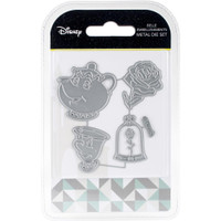 Character World Disney Beauty And The Beast Embellishments Die Set - Belle Embellishments