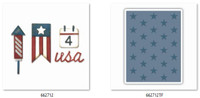 Sizzix Sidekick Side-Order Set By Tim Holtz - Americana