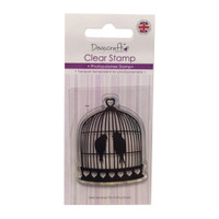 TrimCraft Dovecraft Clear Stamp - Birdcage