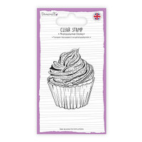 TrimCraft Dovecraft Clear Stamp - Cupcake