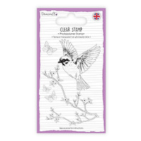 TrimCraft Dovecraft Clear Stamp - Bird