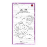TrimCraft Dovecraft Clear Stamp - Hot Air Balloon