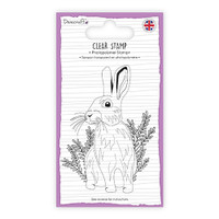 TrimCraft Dovecraft Clear Stamp - Hare