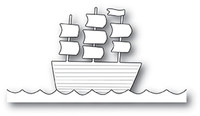 Memory Box PoppyStamps Dies - Tall Ship