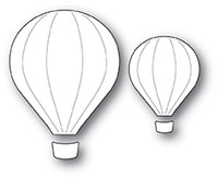 Memory Box PoppyStamps Dies - Hot Air Balloons