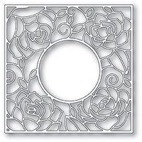 Memory Box PoppyStamps Dies - Rose Frame