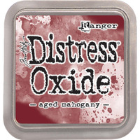 Tim Holtz Distress Oxide Ink Pads by Ranger - Aged Mahogany