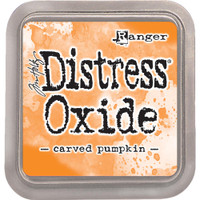 Tim Holtz Distress Oxide Ink Pads by Ranger - Carved Pumpkin