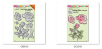 Stampendous Cling Stamps and  Dies Bundle - Rose Garden