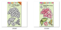 Stampendous Cling Stamps and  Dies Bundle -  Hydrangea Garden