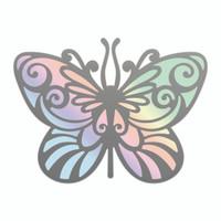 Couture Creations Nouveau Cut & Foil Die - Nouveau Butterfly