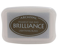 Brilliance Pigment Ink Pad - Lightning Black