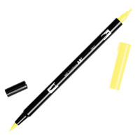 Tombow Dual Brush Pen - 062 Pale Yellow
