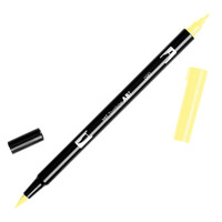 Tombow Dual Brush Pen - 090 Baby Yellow