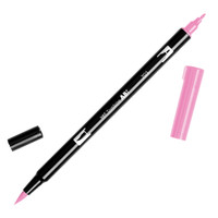 Tombow Dual Brush Pen - 703 Pink Rose