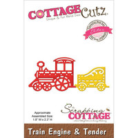 CottageCutz Elites Die - Train Engine & Tender
