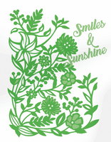 Simply Defined Dies Set - Spring Fling Collection, Smiles and Sunshine
