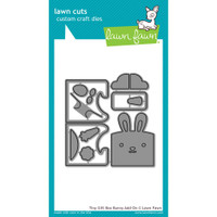 Lawn Fawn Dies - Tiny Gift Box Bunny Add-On