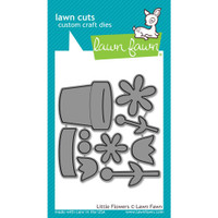 Lawn Fawn Dies - Little Flowers