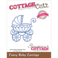 CottageCutz Elites Die - Baby Carriage