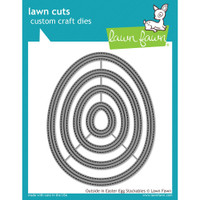 Lawn Fawn Dies - Outside In Easter Egg Stackables