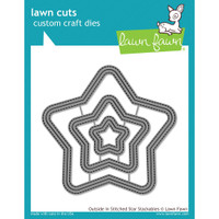 Lawn Fawn Dies - Outside In Stitched Star Stackables