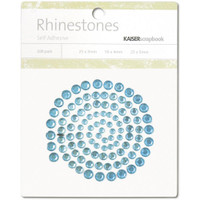 KaiserCraft Rhinestones Self Adhesive - Aqua