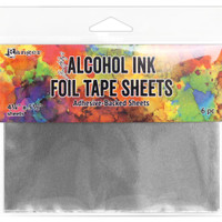 "Tim Holtz Alcohol Ink 4.25""X5.5""  6 pc Foil Tape Sheets"