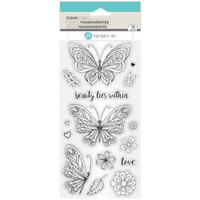 Hampton Art Clear Stamps  - Beauty Within