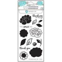 Hampton Art Clear Stamps  - Flower Amaze