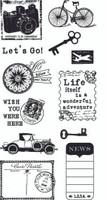 Hampton Art Clear Stamps  - Journey