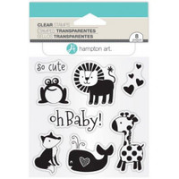 Hampton Art Clear Stamps  - Oh Baby!