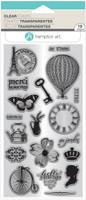 Hampton Art Clear Stamps  - Parisian Icons