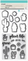 Hampton Art Clear Stamps  - Plant Life