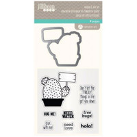 Hampton Art, Jillibean Soup Clear Stamps and Dies  - Stick With Me