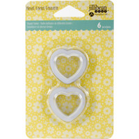 Hampton Art, Jillibean Soup Shaker Tag Insert  6/Pkg - Small Heart