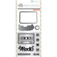 Hampton Art, Mama Elephant Stamp & Die Set - Mix Tape