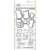 Hampton Art, Mama Elephant Stamp & Die Set - Puppy Play