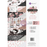 Prima Marketing, Amelia Rose Double-Sided A4 Paper Pad