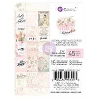 Prima Marketing, Love Story Journaling 3X4 Cards Pad