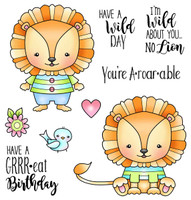 Darcie's Heart & Home Cling Stamp Set - No Lion