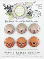 Darcie's Heart & Home Tin Pins - Dam Good